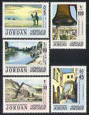 Jordan 1971 Turismo/camellos/Campana/River/Petra 5v (n31955)