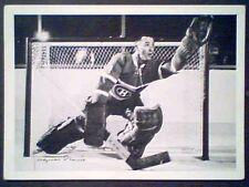 JACQUES PLANTE  '60-61 YORK PREMIUM MONTREAL CANADIENS LEGEND 5 X 7 PHOTO
