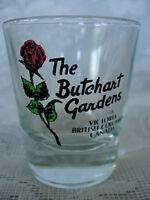 Collectible THE BUTCHART GARDENS, Victoria B.C., Canada Shot Glass