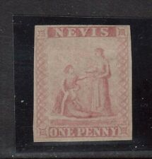 Nevis #1P VF Scarce Proof