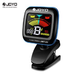 Joyo JMT03 Clip on Guitar Tuner Metronome, Guitar, Bass, Ukulele, Violin