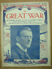 ORIGINAL VINTAGE MAGAZINE 109 THE GREAT WAR 1914-18 NICE ITEM TO MARK CENTENARY