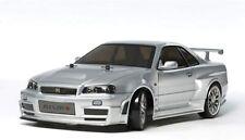 Tamiya 1/10 RC Car No.605 NISMO R34 GT-R Z-Tune TT-02D Chassis Drift Spec 58605