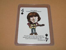 JOHN FOGERTY CREEDENCE CLEARWATER REVIVAL ROCK N ROLL HALL OF FAME PLAYING CARD