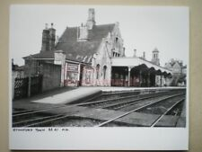 PHOTO  10 X 8 INCHES - STAMFORD TOWN RAILWAY STATION