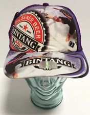 Bintang Pilsener Beer Inrizk Bali Surf Trucker Hat Snapback Adjustable New