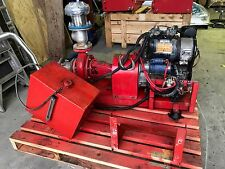 Diesel fire pump - 2 cylinder motor air cooled