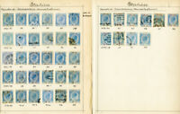 Italy Stamps 40x Early Revenue 1870 Issues used & clean Rare