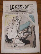 Le Grelot Journal Satirique N°123 Croquis De Saison Par Alfred Le Petit 1873