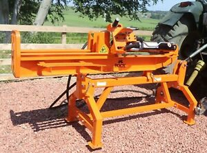 Venom 25ton tractor mounted log splitter by Rock Machinery