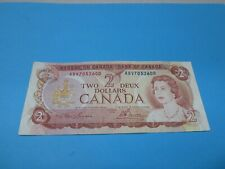 1974 - Canada $2 bill - Canadian two dollar note - ABV7052600