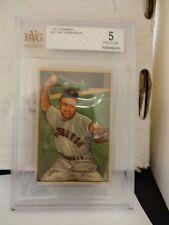1952 Bowman Joe Garagiola Pittsburgh Pirates Card #27 BVG 5 Excellent