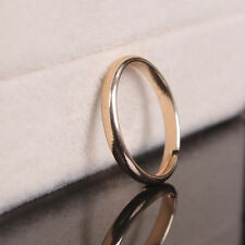 Stunning Girls/Women 2 Mm Delicate Smooth Adjustable Toe Ring In Gold Or Silver