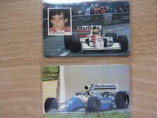 Ayrton Senna Telefonkarten Überdruck For 1A+For 1B 100er Auflage Formel 1