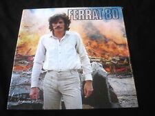 JEAN FERRAT/FERRAT 80/RARE SCELLE/SEALED/DISQUES TEMEY ORIGINAL FRANCE