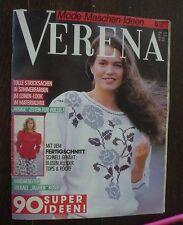 Verena Mode Maschen Ideen 1988 06 Juni 88 Zeitschrift Sommermode Fertigschnitt