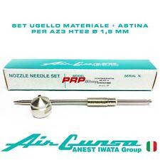 Set Ugello Materiale + Astina per Air Gunsa AZ3 HTE2 - Nozzle Needle Set 1.8 mm