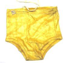 9c62e0ec59 VTG Boys SWIM Swimming SUIT Trunks NWT 1930s Dead Stock Yellow Rayon Knit  SZ 4