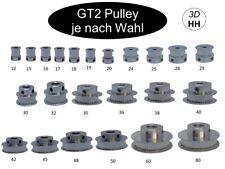 10mm Breite GT2 Pulley Zahnrad Ritzel ver. Zähne und ver. Ø. GT-2 SOFORTVERSAND