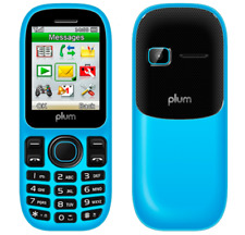 PLUM A103 UNLOCKED HSPA CELL PHONE MOBILE FIDO ROGERS CHATR TELUS DUAL SIM BLUE