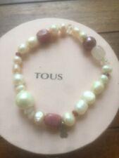 805e4367c16c Pulsera Tous perlas y plata blanco y rosa