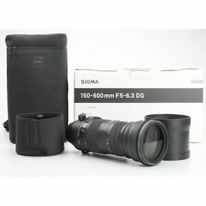 Canon Sigma Dg 5,0 -6, 3/150-600 HSM OS S SPORTS + Very Good (234214)