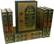 Sahih Muslim - Arabic / English (7 Volume Set) DS