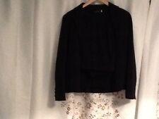 Ladies Ottorose Size 14 Navy Trouser Suit