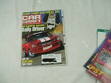 Car Craft Magazine ~ August 2001 ~ 520 HP Pump-Gas Chevy 350 - How To Build An