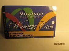 Morongo Casino & Resort - Casino Players Card- Morongo Reservation, Ca.- mint