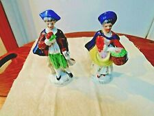 """Pair of Colonial Figures Occupied Japan 5.5"""""""