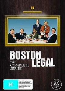 BOSTON LEGAL The Complete Series DVD Region 4 (AUS) Brand New & Sealed