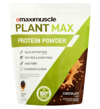 Maximuscle Plant Max Whey Protein Powder Chocolate 480g BBE 05/2021 Vegan