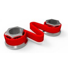 19mm Checklink Wheel Nut Indicator Red Pack of 10