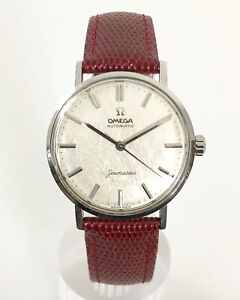 OMEGA SEAMASTER LINEN DIAL AUTOMATIC CAL. 552 DATING TO 1961