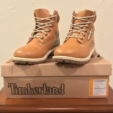 RARE Vintage Timberland Custom Cartoon Boondocks Brown & White Mens Size 7 Boots