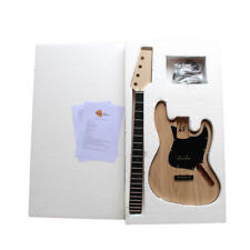 Coban Guitar DIY Kit 1WM4 D Jazz Bass 4 Strings ASH BODY NO SOLDERING BYO Kits