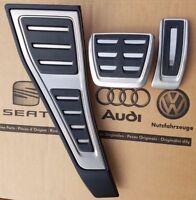 Original Audi A4 8E B6 B7 Pedal Set Sport Pedals RS4 Pedal Covers Set Pedal Pads