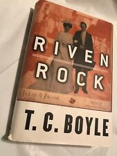RIVEN ROCK  T.C. Boyle  Very Good 1998 First Edition 1st Printing  Viking