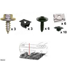 Unterfahrschutz Einbausatz Unterbodenschutz CLIPS Audi A1 VW Polo Skoda  90222