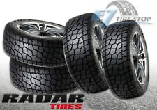 (4) New Radar Renegade AT-5 LT295/55R20 E 123/120S All Terrain Tires