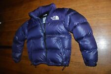 D2A| North Face Nuptse 700 Goose Down Winter Jacket Women S Small purple RARE!