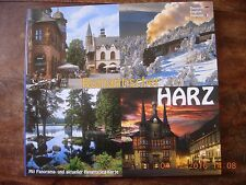 The Romantic Harz With Panorama and maps in English, German and French