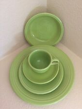 Fiesta Ware Retired Chartreuse  5-Piece Place Setting First Quality New Unused