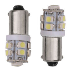 2pcs BA9S W5W 10 SMD 1210 3528 LED Car Width Lamp License Dish Light Tail Bulb