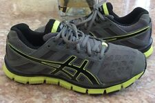 Asics Gel Blur 33 Trainers Men's Gray Volt Running Training Shoes Size 6 S206Y