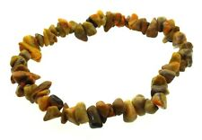 Abejorro jaspe piedra preciosa pulsera guijarros