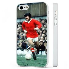 George Best Manchester United WHITE PHONE CASE COVER fits iPHONE