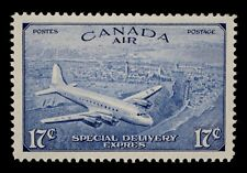 CANADA AIR MAIL SPECIAL DELIVERY -17 CENTS BRIGHT ULTRAMARINE - UN#CE3 - XF NH