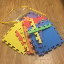 Multicolored Kid Interlocking Rubber Foam Floor Tiles